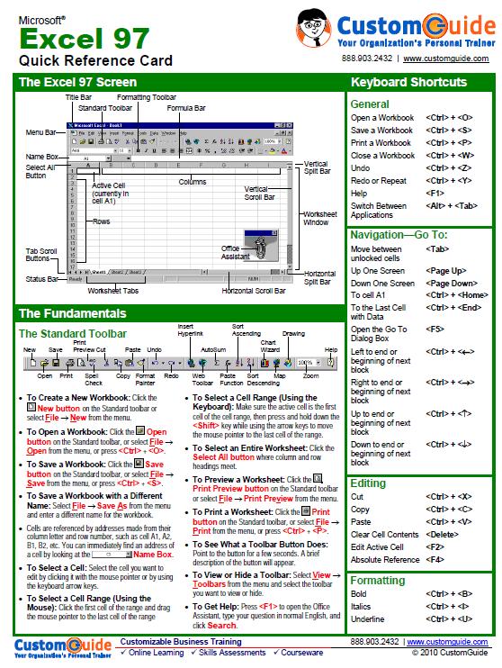 Excel-kaart