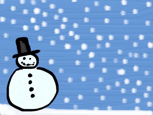 Afbeeldingsresultaat voor sneeuw tekening