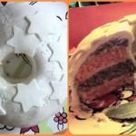 Oranje-paarse taart