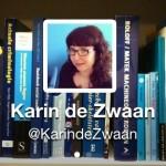 Twitterheader met boeken