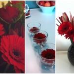Herschik bloemen