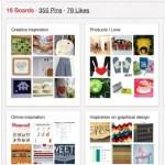 Pinterest en bloggen